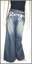 Roxy Brand New Women's Wide Leg Flare Jeans size UK 8 L32   EUR 36