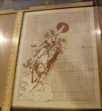 BARRY SMITH CONAN ON HORSE GORBLIMEY PRESS 1974 SIGNED 238/500