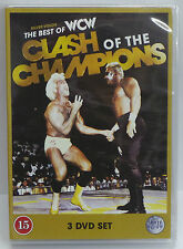 WWE Clash of The Champions 3 Disc DVD Boxset - NEW & SEALED