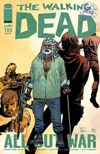 The Walking Dead #123 Image Comic Book First Printing All Out War Part 9 Ezekiel