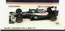 Minichamps Williams FW34 Race Version 2012 - Bruno Senna 1/43 Scale