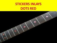 STICKER INLAY DOTS ABALONE RED VISIT OUR STORE WITH MANY MORE MODELS