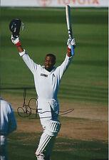 Brian LARA Signed Authentic Autograph Photo AFTAL COA West Indies Batsman