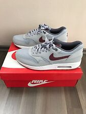 Nike Air Max 1 Grey/ Red 43 Us 9,5 Uk 8,5 New  OG Box