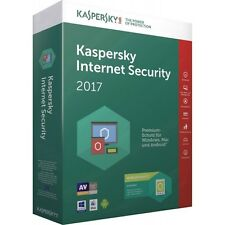 Kaspersky Internet Security 2017 Multi-Device 3 PC 360 Giorni ESD