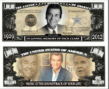 Dick Clark Commemorative Million Dollar Bill