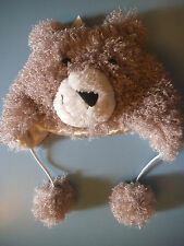 Teddy Bear Hat New with Tags RRP £22 Age 3-7 Years