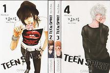 TEEN SPIRIT tomes 1 à 4 Kim Ji-Eun SERIE COMPLETE manga en français