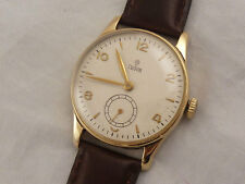 Tudor 9ct GOLD VINTAGE WATCH c.1953