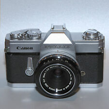 VERY RARE Canon Pellix 35mm SLR Camera With a FLP 38mm f2.8 Lens