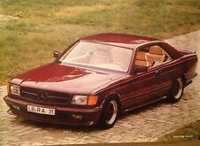 Mercedes-Benz AMG 500 SEC Free Shipping! Car Poster Rare Version Own It!!