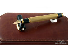 "Visconti Rinascimento ""Organza"" Solid Gold Fountain Pen - Special #002/500!"