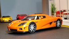 AutoArt SLOT Car 1:32 KOENIGSEGG CCX Orange Lighting Lamps NEW Scalextric