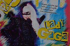 LADY GAGA - A3 Poster (ca. 42 x 28 cm) - Clippings Fan Sammlung NEU