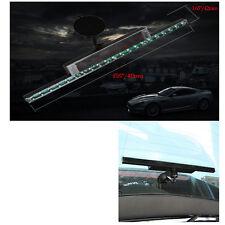 Knight Rider LED RGB Solar Blitz-Auto Lauflicht Scanner Strip Streifen Lichterke