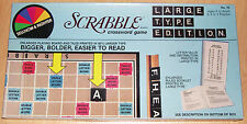 Scrabble - Special Large Type Edition - Selchow & Righter 1982 - VERY RARE