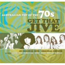 AUSTRALIAN POP OF THE 70s GET THAT JIVE VARIOUS ARTISTS 2 CD NEW