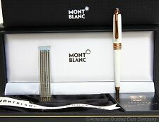 "MontBlanc 116 Mozart  Rose Gold  ""Tribute""  Ballpoint Pen W/Refills NEW W/TAGS!"