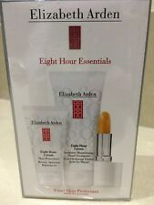Elizabeth Arden - Eight Hour Cream Essentials -LIP, Hand, Protectant NEW SEALED