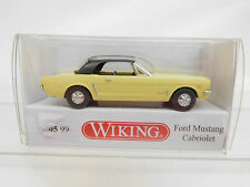 MES-51400 Wiking 1:87 Ford Mustang cabrio sehr guter Zustand