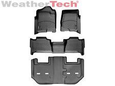 WeatherTech® FloorLiner -GMC Yukon XL w/ Bucket Seats - Full Set-2011-2014-Black