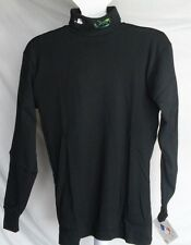 NWT MLB MAJESTIC TURTLENECK SHIRT - TAMPA BAY DEVIL RAYS - BLACK - MEDIUM