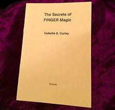 SECRETS OF FINGER MAGICK Finbarr Grimoire Magic Spells Occult Witchcraft Wicca