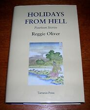 REGGIE OLIVER HOLIDAYS FROM HELL TARTARUS PRESS HC SIGNED #68/500