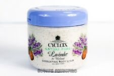 Cyclax Nature Pure Lavender & Walnut Exfoliating Body Scrub 300ml UK Made