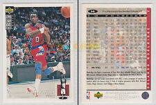 NBA UPPER DECK 1994 COLLECTOR'S CHOICE - Orlando Woolridge # 96 Ita/Eng MINT