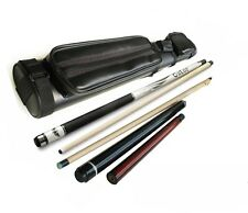 SP-R Pool Cue Stick, Gator Nemesis Jump& Break Cue, 2x2 Case, Glove, Aim Trainer