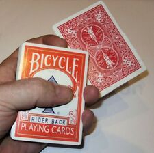 VANISHING DISAPPEARING CARD CASE & QUICK COLOUR CHANGE BICYCLE CARDS MAGIC TRICK