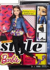 BARBIE STYLE RAQUELLE DOLL FASHIONISTAS DHD87 BLUE JACKET *NEW*