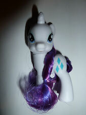 My Little Pony Friendship is Magic MLP:FiM G4 brushable figure Rarity toy cute!