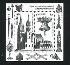 POLAND 2014 **MNH BLACKPRINT- Wawel Cathedral 650th Anniversary - Christianity