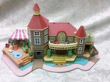 1994 Bluebird Polly Pocket Light-Up Magical Mansion. Missing parts. RARE.