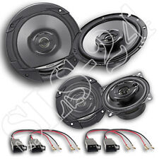 VW GOLF III PASSAT 35i CADDY POLO 6n-Clarion sre1722r 2 vie altoparlanti Set