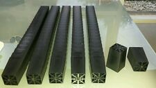150x  50mm square tubes pots propagation seedling plastic plug plant BRAND NEW