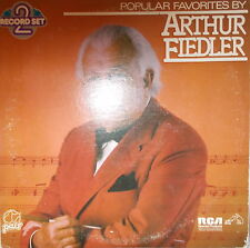 2 LP 's popular Favorites by Arthur Fiedler, è VG + +, USA PRESS. RCA rec. PDL 2-1022