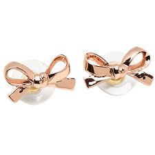 Kate Spade Rose Gold Bow Stud Earings wbru6187 MSRP $48