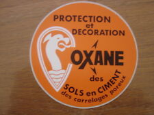 Autocollant Sticker PROTECTION ET DECORATION OXANE SOLS CIMENT CARRELAGES POREUX