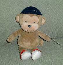 JUST ONE YOU STUFFED PLUSH PLAY MONKEY BASEBALL LAUGH GIGGLE SOUND BABY TOY NEW