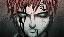 177 Naruto Gaara PLAYMAT CUSTOM PLAY MAT ANIME PLAYMAT FREE SHIPPING