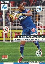 110 STEVE MANDANDA FRANCE OM OLYMPIQUE MARSEILLE CARD ADRENALYN 2016 PANINI