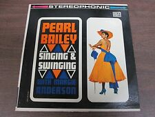33 RPM Vinyl Pearl Bailey, Singing & Swinging Coronet Records CXS 148 042514ame