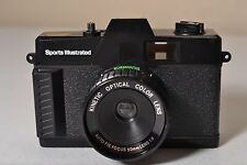Vintage Sports Illustrated 35mm Film Toy Camera Lomo photography 50mm lens