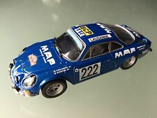 DECAL CALCA DECALC 1 43 RENAULT ALPINE A 110 N°222 Rally WRC MONTE CARLO 1982