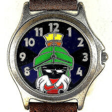 Marvin The Martian, Warner Bros Fossil Changing Color Mood Watch Dial Unworn $99