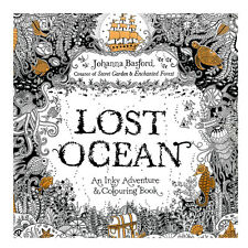 Lost Ocean Coloring Book Books Drawing English  Graffiti Painting Adult