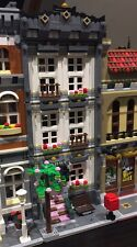 Lego Custom Modular Building. White Town House. Like 10182, 10185